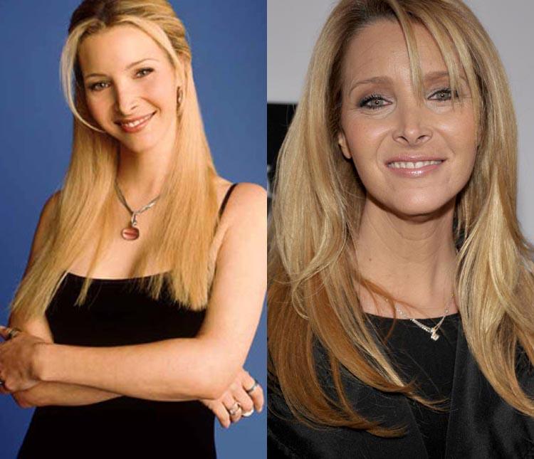 Resultado de imagem para friends lisa kudrow antes e depois